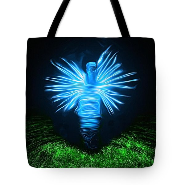 Tote Bag featuring the photograph I Sing The Body Electric by Mark Fuller