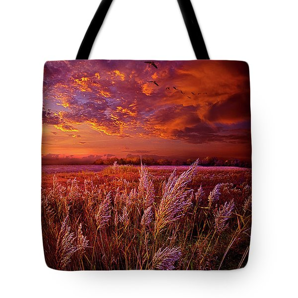 I Spoke To God Today Tote Bag