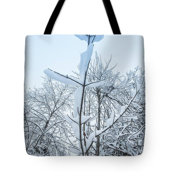 Tote Bag featuring the photograph I Stand Alone- by JD Mims