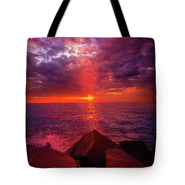 Tote Bag featuring the photograph I Still Believe In What Could Be by Phil Koch