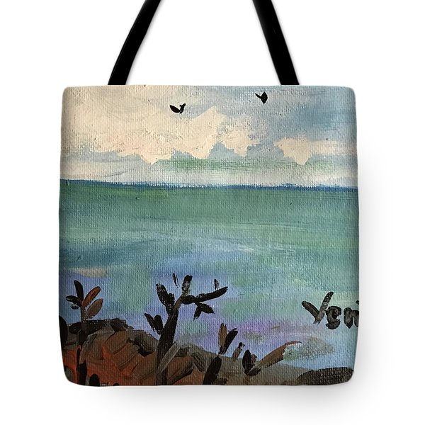 I Stood There And Watched It All Tote Bag