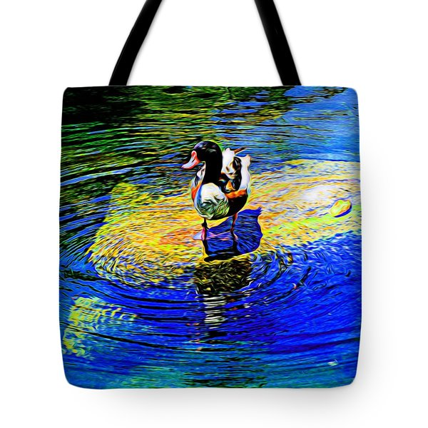 I Think I Will Stand Right Here Tote Bag