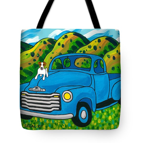 I Think I'm A Hood Ornament Tote Bag