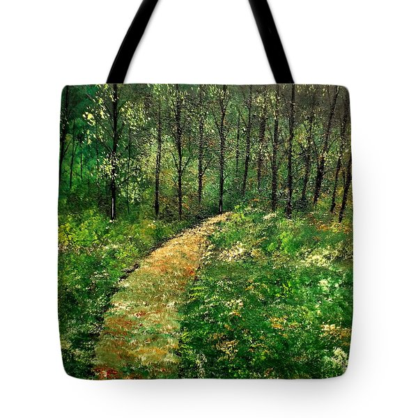 I Think It's Time For Our Walk Tote Bag