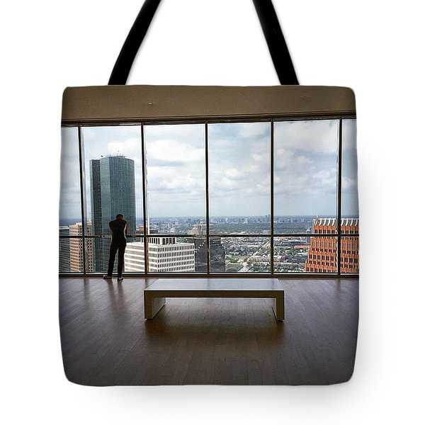 Reflecting Over #houston Tote Bag