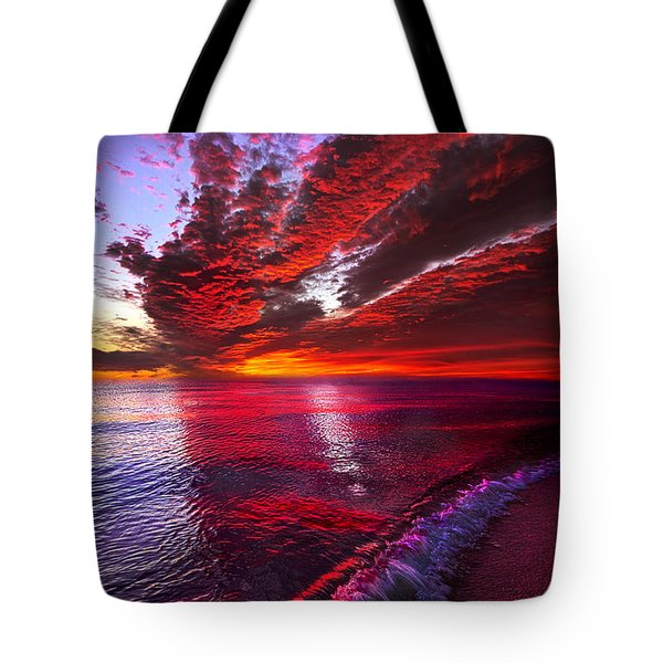I Wake As A Child To See The World Begin Tote Bag