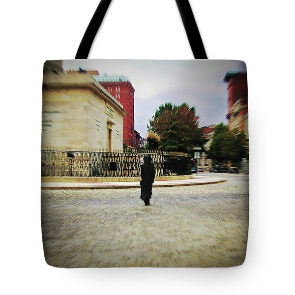 Tote Bag featuring the photograph I Walk Alone by Brian Wallace