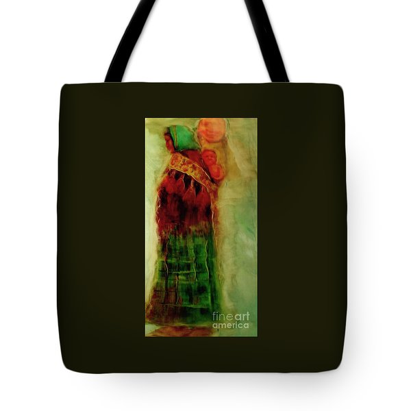 I Walk Tote Bag