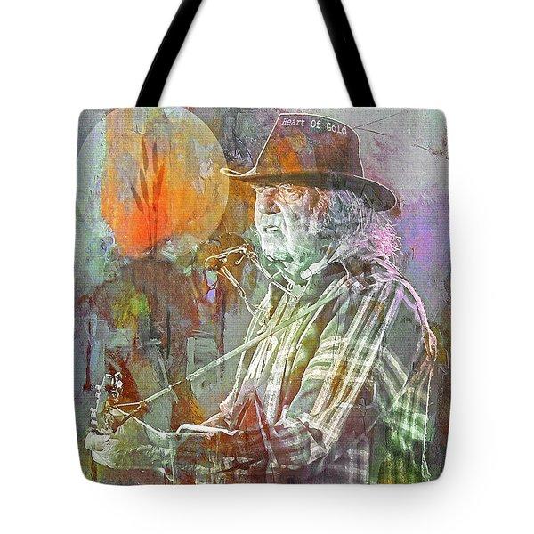 I Wanna Live, I Wanna Give Tote Bag by Mal Bray