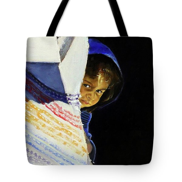 I Was A Stranger Tote Bag by Gordon Bell