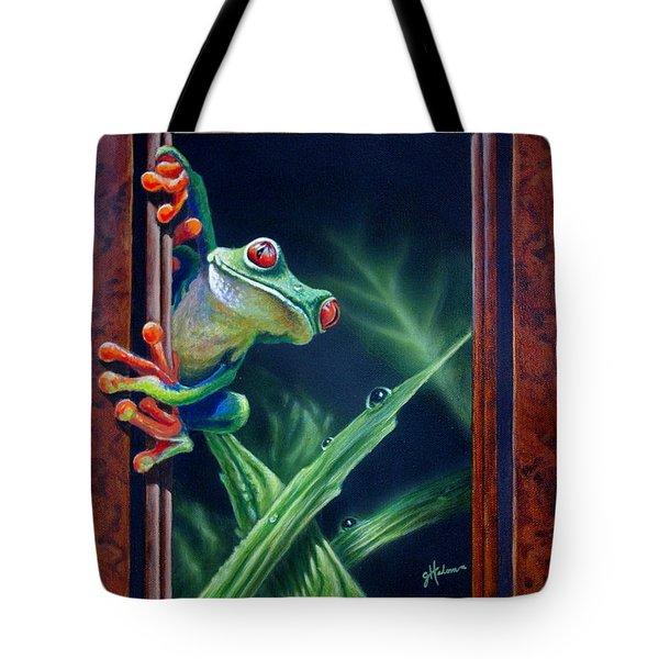 'i Was Framed' Tote Bag