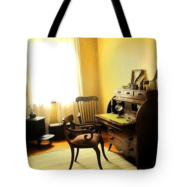 I Will Be Right Back  Tote Bag by Ian  MacDonald