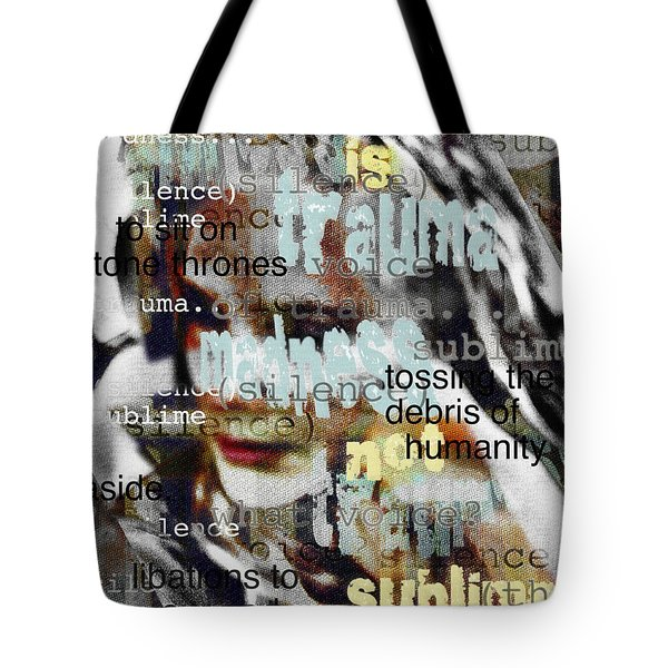 Mistaken Identity-i Will Be Silent No More Tote Bag