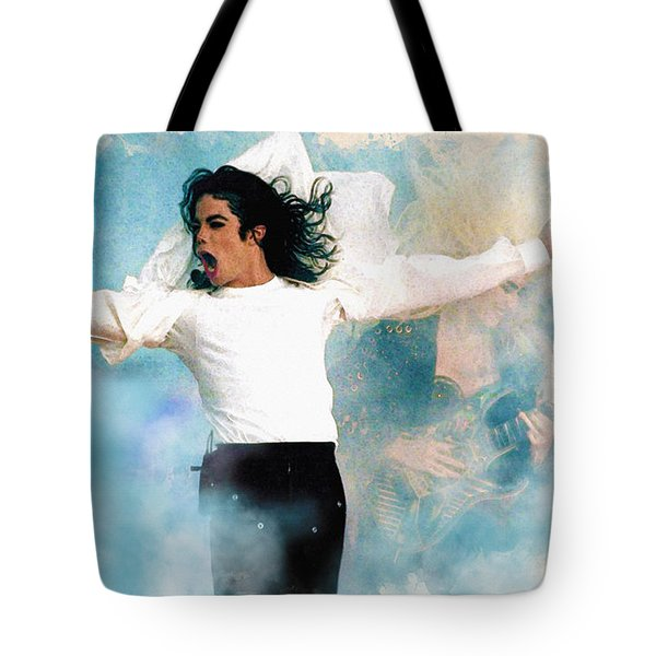 I Will Be There Tote Bag