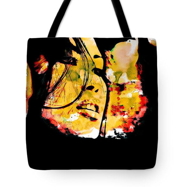 Inexorably, Time Moves Tote Bag
