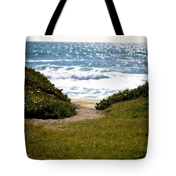 I Will Follow - Ocean Photography Tote Bag