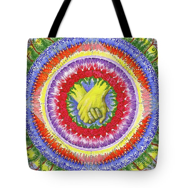 Tote Bag featuring the painting I Will Have You And You Will Have Me #1 by Kym Nicolas