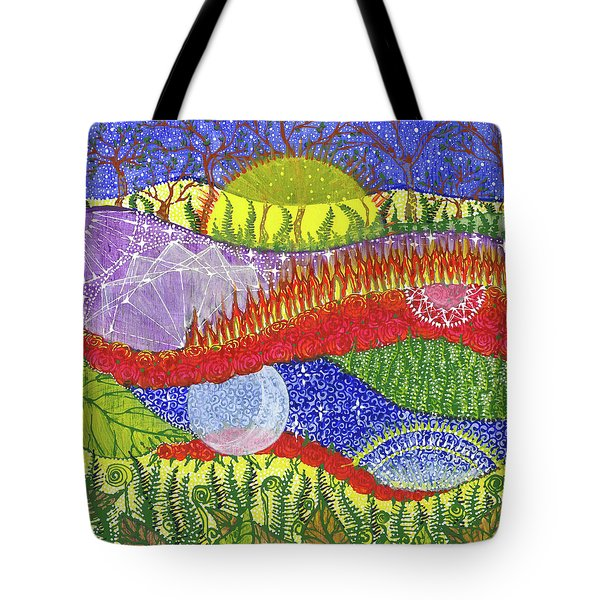 Tote Bag featuring the painting I Will Have You And You Will Have Me #2 by Kym Nicolas