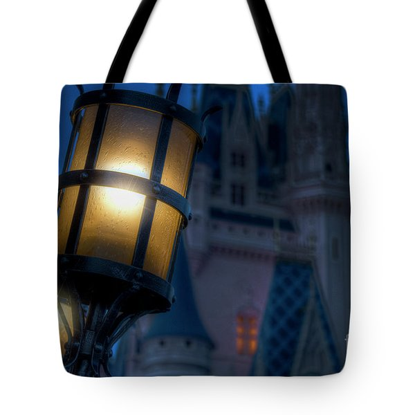 I Will Leave The Light On Tote Bag