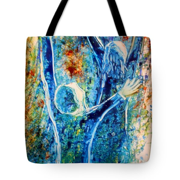 I Will Praise You In The Storm Tote Bag