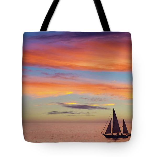 I Will Sail Away, And Take Your Heart With Me Tote Bag