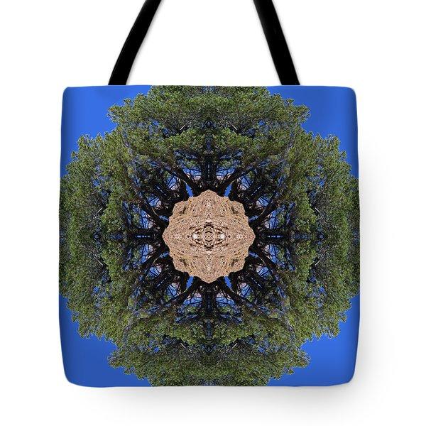 I Will Survive Tree Kaleidoscope Tote Bag