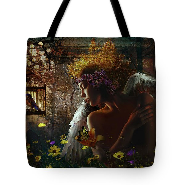 I Wish I Could Fly Tote Bag