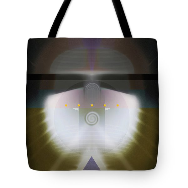 I Wish I Was A Headlight On A Northbound Train Tote Bag by David Klaboe