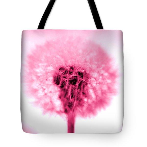 I Wish In Pink Tote Bag by Valerie Fuqua