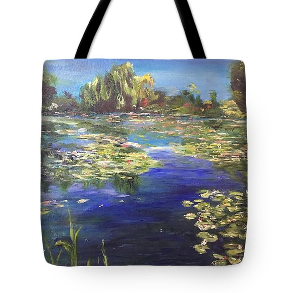 Tote Bag featuring the painting I Wish The Best For You - II by Belinda Low
