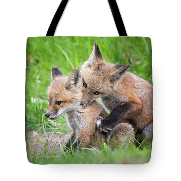 I Wuv You  Tote Bag