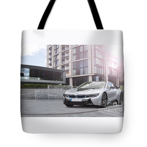 I8 Architecture  Tote Bag by Roger Lighterness