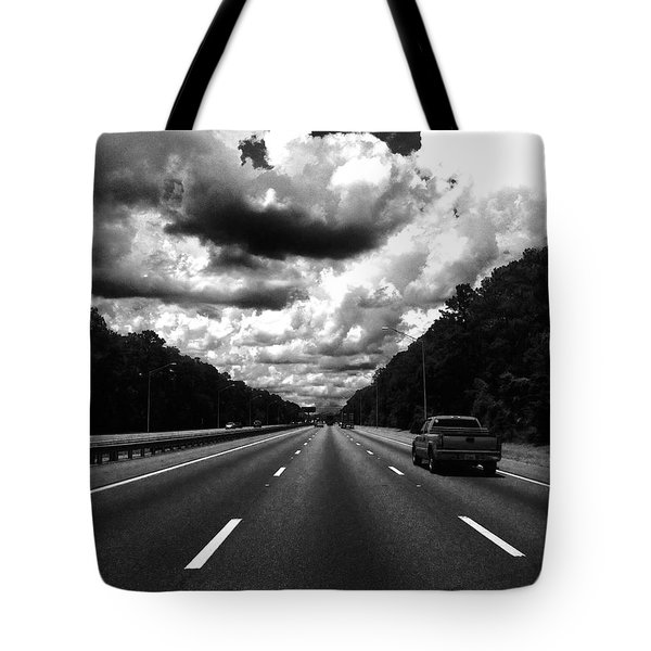 I95 Clouds Tote Bag