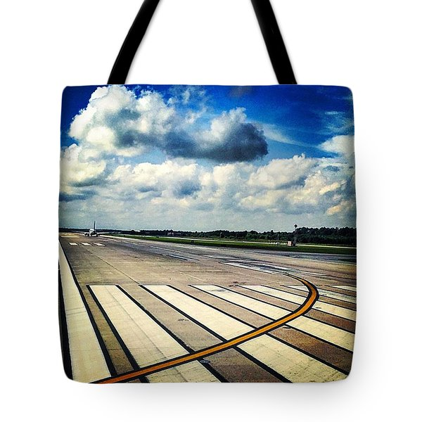 Next For Takeoff Tote Bag