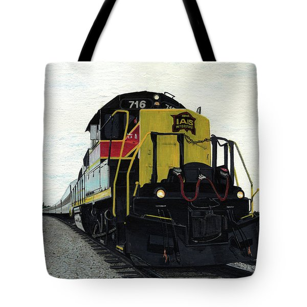 Tote Bag featuring the painting Iais716 by Jason Girard