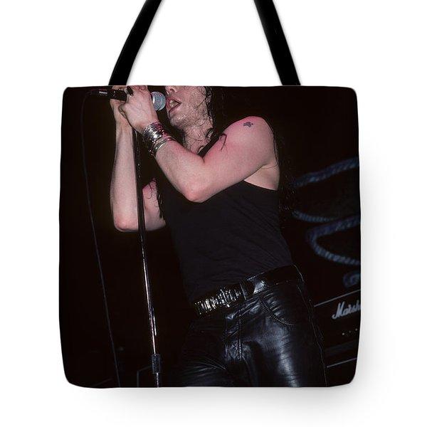 Ian Astbury Of The Cult Tote Bag