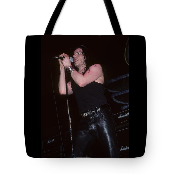 Ian Astbury Of The Cult Tote Bag