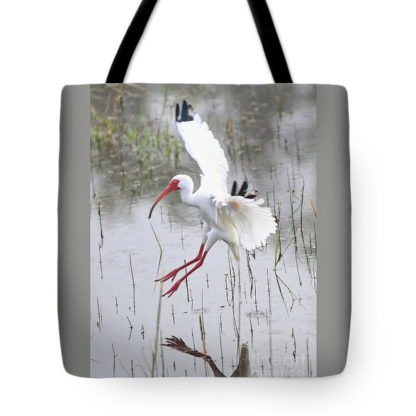 Ibis Soft Water Landing Tote Bag