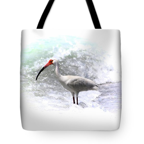 Ibis Surf Tote Bag