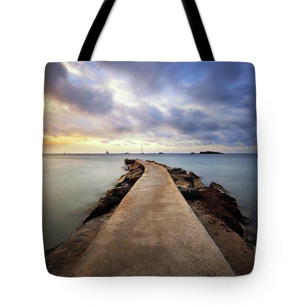 Ibiza Summer Mix 6.0 Tote Bag by Yhun Suarez