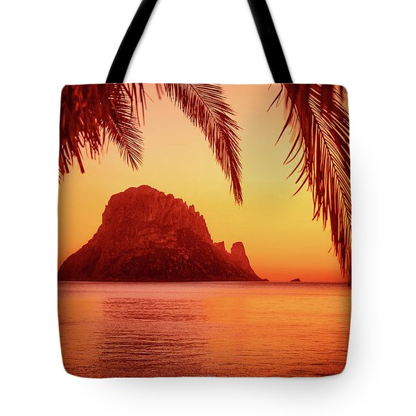 Ibiza Sunset Tote Bag by Iryna Goodall