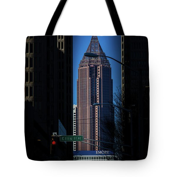 Ibm Tower Tote Bag