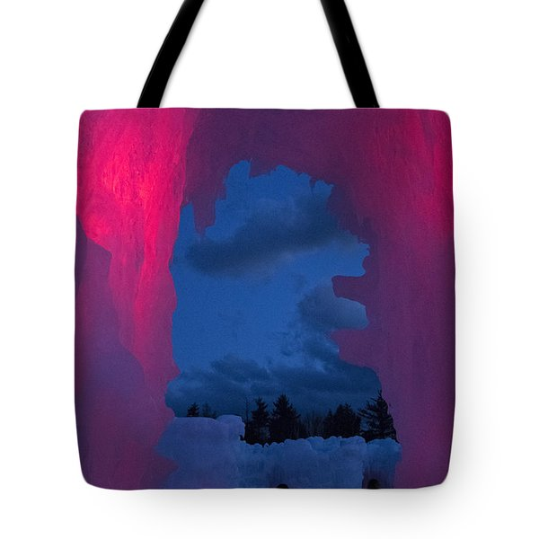 Ice And Colors  Tote Bag