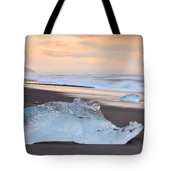 Ice Beach Tote Bag