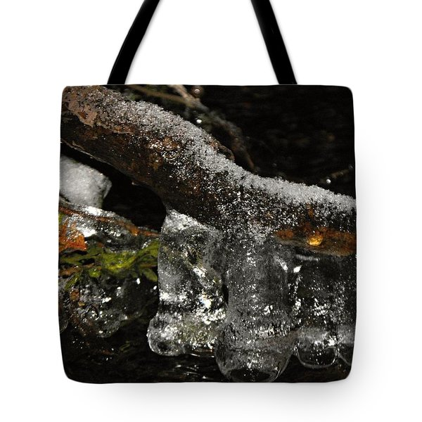 Ice Boots Tote Bag