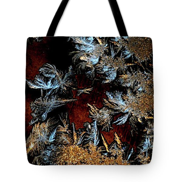 Ice Cold Gold Tote Bag