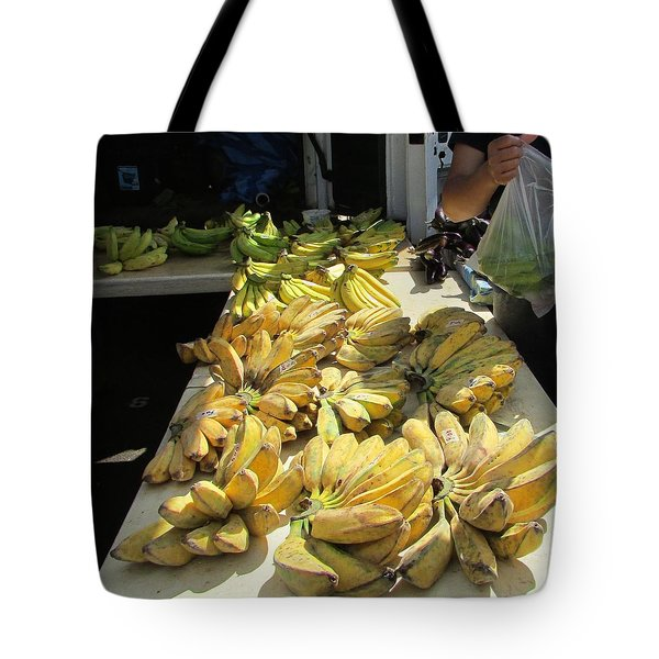 Ice Cream Bananas Tote Bag