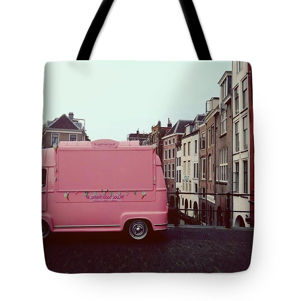 Ice Cream Car Tote Bag