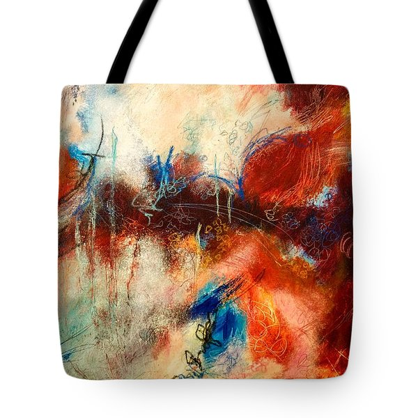 Ice Cream From Ear To Ear Tote Bag