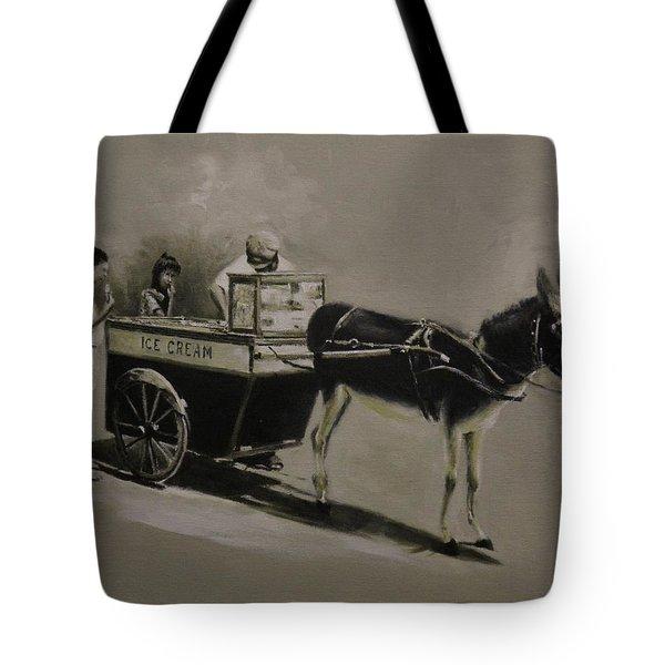 Ice Cream Man. Tote Bag